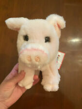 *NEW* WITH TAGS! Children's BOUTIQUE Plush PINK PIG—MACHINE WASHABLE! Adorable!