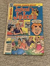 Jugheads Jokes Number 66 Oct. 1979 Archie Series Ice Cream Shop