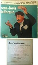 René Louis Lafforgue Disque Super 45T 4 titres La botte vintage