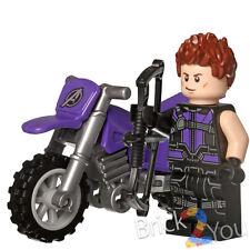 Lego Marvel Super Heroes Hawkeye Cycle + Hawkeye Civil War Only from 76067