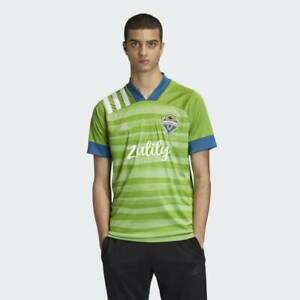 NEW ADIDAS Seattle Sounders 20/21 Home Authentic MLS Jersey size S/small EH6214