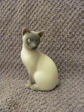 Avon Cat figurine 1984 Siamese 3 1/2 tall no cracks or chips