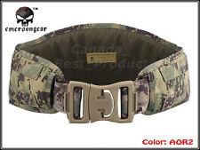 EMERSON Tactical Modular 1000D Combat Padded Molle Waist Belt Digital Woodland