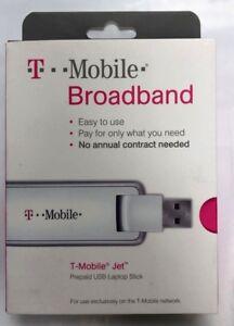 NEW T-Mobile Broadband Jet Prepaid USB Laptop Stick UMG1691