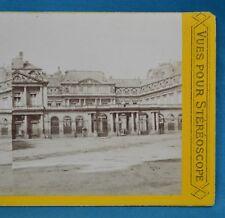1860/70s France Stereoview Photo Palais Royal Paris Vues Pour Stereoscope PL