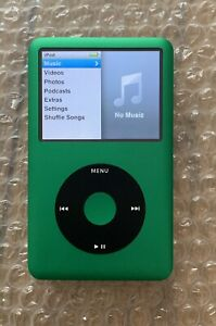 New Apple iPod Classic A1238 7th Generation Green (120GB) Same Day Dispatch