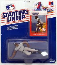 Rickey Henderson Starting Lineup 1988 Baseball New York Yankees Kenner NY Yanks