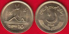 Pakistan 10 rupees 2016 km#77 UNC