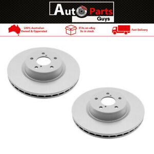 Guardian Rotor Pair Front GR964 (same as DBA964) Suits Ford Courier PC PG PH