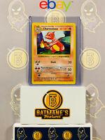 Charmeleon 24/102 Shadowless LP/NM Near Mint Base Set Non-Holo Pokemon Card
