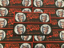 Morbid Saint Spectrum Of Death Official Woven Strip Patches (Limited to 60)
