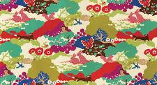 MoMo Lucky Day Happy Habitat Multi 33290 16 Quilting Cotton Fabric