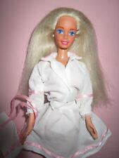 B1006) vieja rubio vintage barbie mattel 3-kits Weiss-rosa atuendo + zapatos