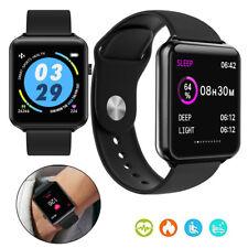 2020 Luxury Smart Watch Sports Fitness Tracker Heart Rate Bracelet Music Control