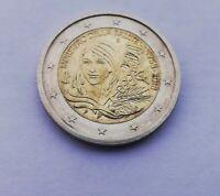 Moneta da 2 RARA commemorativa ministero della salute 1958 2018