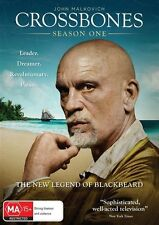 Crossbones : Season 1 : JOHN MALKOVICH..REG 4..NEW & SEALED   S1171
