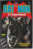 Batman Superband Nr.22 von 1985 - TOP Z1 ORIGINAL ERSTAUFLAGE EHAPA COMICALBUM
