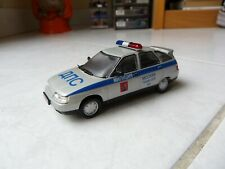 Lada vaz 112 police moscow russia ixo de agostini 1/43 miniature