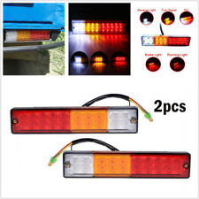 12V 20 LED Car Truck Trailer Tail Light Turn Signal Reverse Brake Rear Lamp Bulb