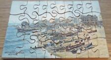 West Beach from Pier - Worthing - Vintage 1920s Small Wooden Jigsaw Puzzle