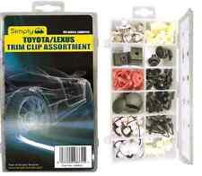 Semplicemente Brand TOYOTA LEXUS AUTO PORTA COFANO TRIM Assortimento Clip Kit Imballare