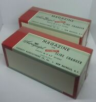 """2 Magazines for Airequipt auto slide changer. Holds 36 2""""x2"""" Slides. Made in USA"""