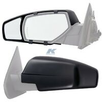 K-Source 3990 Universal Dual Lens Towing Mirrors with Ratchet Mount System
