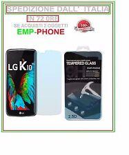 Pellicola Vetro Temperato per LG K10 2016 K420N Protezione Schermo Display Lcd