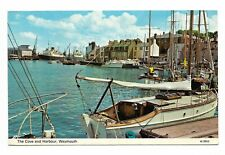 The Cove & Harbour, Weymouth Dorset 1970 Postcard 739M