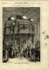 1878 Farmer And Rogers Exhibition Stand In Paris