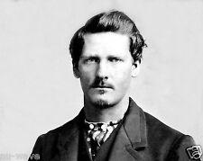 Photo of Wyatt Earp at age 21-Deputy Sheriff-Town Marshall-Gambler