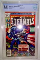 The Eternals # 11 CBCS ( 8.5 ) 1977 Jack Kirby - Mike Royer - Frank Giacoia
