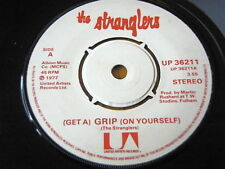 """THE STRANGLERS - (GET A) GRIP (ON YOURSELF)  7"""" VINYL"""
