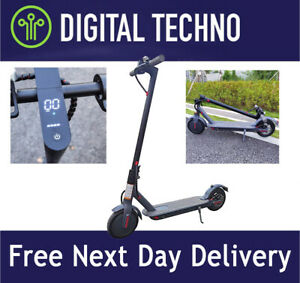 NEW Electric Scooter - Folding High Power e-Scooter 25KM/H, LED Speedo, App Lock