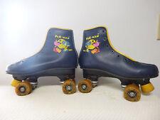 Vintage Roller Skates Pac-Man Brookfield Size 5 Women Girls Boys Pac Man RARE!
