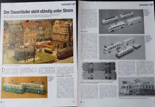 EHEIM-BRAWA TROLLEY-BUS - O-BUS MODELLE....ein Modellberich   #1997