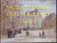 Mr Lucky Billion Dollar Voodoo Banner Altar Cloth Ritual Spell Kit Success Cash