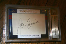 2012 Leaf Prime Cuts Sports Icons Joe Cronin & Rick Ferrell Auto SP HOF 1/1