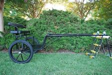 """Easy Entry Style Horse Cart-Cob/Horse Size With 72""""- 82"""" Straight Shafts"""