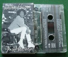 Whitney Houston I'm Your Baby Tonight inc Lover for Life + Cassette Tape TESTED
