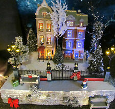Christmas Field, Village Display ADD-ON or RISER platform  Dept 56 Lemax