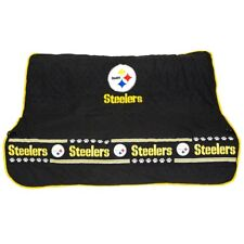 Pittsburgh Steelers NFL Pets First Dog Pet Suede Car Seat Cover