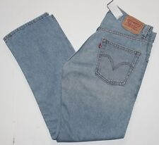 Men's Levi's Denim 505 Regular Fit Straight Leg Jeans 32x30 NWOT