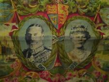 King George V & Queen Mary Silver Jubilee 1910-1935 Commemorative Handkerchief