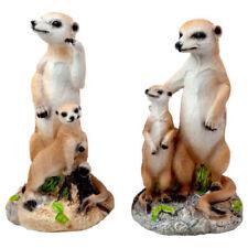 Gartenfiguren & -skulpturen aus Kunstharz Erdmännchen