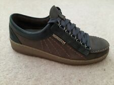 MENS MEPHISTO RAINBOW DARK BROWN rainbuck SHOES SIZE EU 9.5 US 10