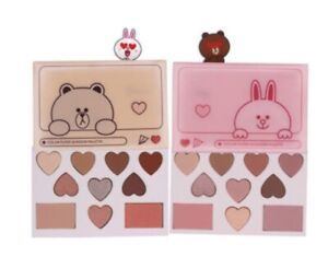 Missha Line Friends Edition Color Filter Eyes Shadow Palette Cony & Brown Beauty