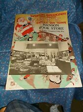 Old Hanson Book Store Chippewa Falls Interior Photo Christmas  Santa's Toy Town