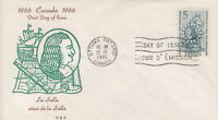 CANADA #446 5¢ CAVELIER DE LA SALLE ON H&E CACHET FIRST DAY COVER