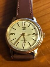 MINT GUB Glashutte Cal.70.1 Gold Plated Rare Dial Hand Wind Vintage